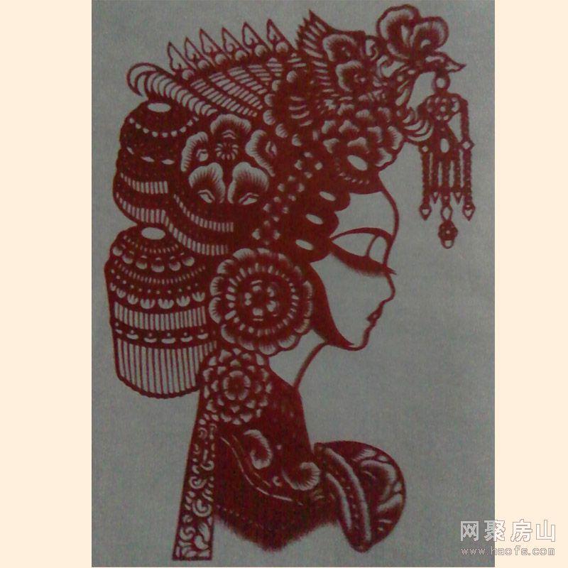 北京工艺刻纸图案13641355024十二生肖图刻纸|八仙过